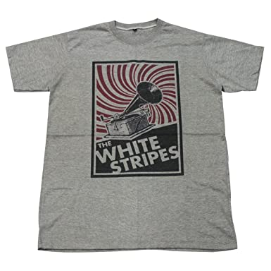 Amazon.com: The White Stripes alternative rock band music T-Shirt ...