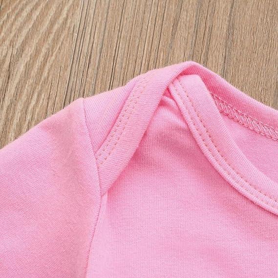 Amazon.com: goodlock recién nacido niños moda Pelele bebé ...