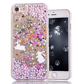 meet df211 6e8b3 iPhone 7 Plus Case, Aeeque Fantastic 3D Moving Bright Color Sparkly ...