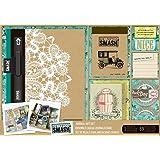 "SMASH Folio 10.25""X7.75"" Wedding | Smash book, Smash ... |Smash Folio Journal Kit"