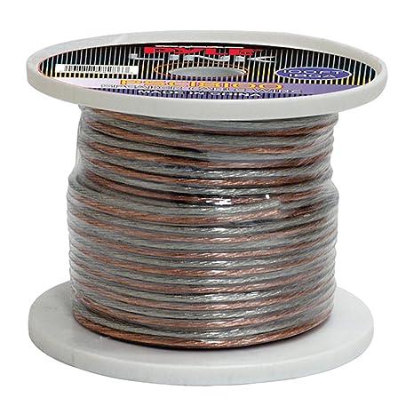 Pyle PSC18100 18-Gauge 100-Feet Spool of Speaker Zip Wire