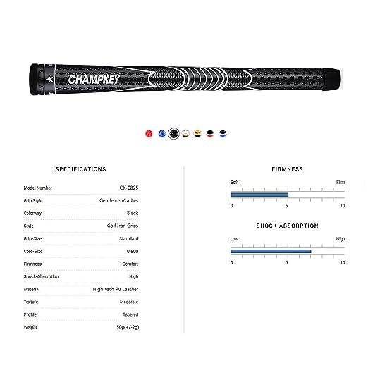 Amazon.com: Champkey STP - Juego de agarres para palos de ...