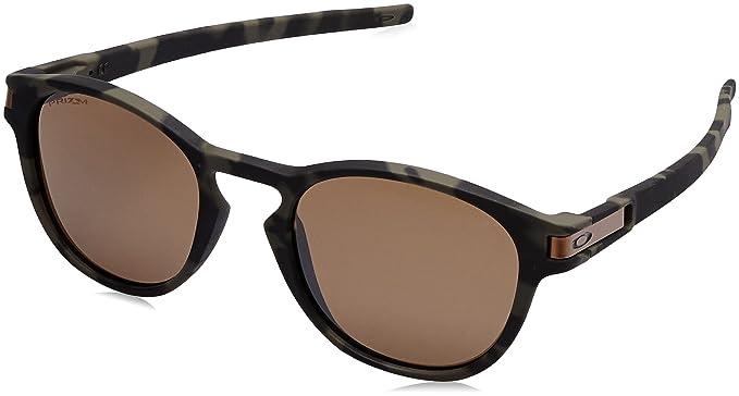 218b3573b87 Oakley Men s Latch Non-Polarized Iridium Oval Sunglasses