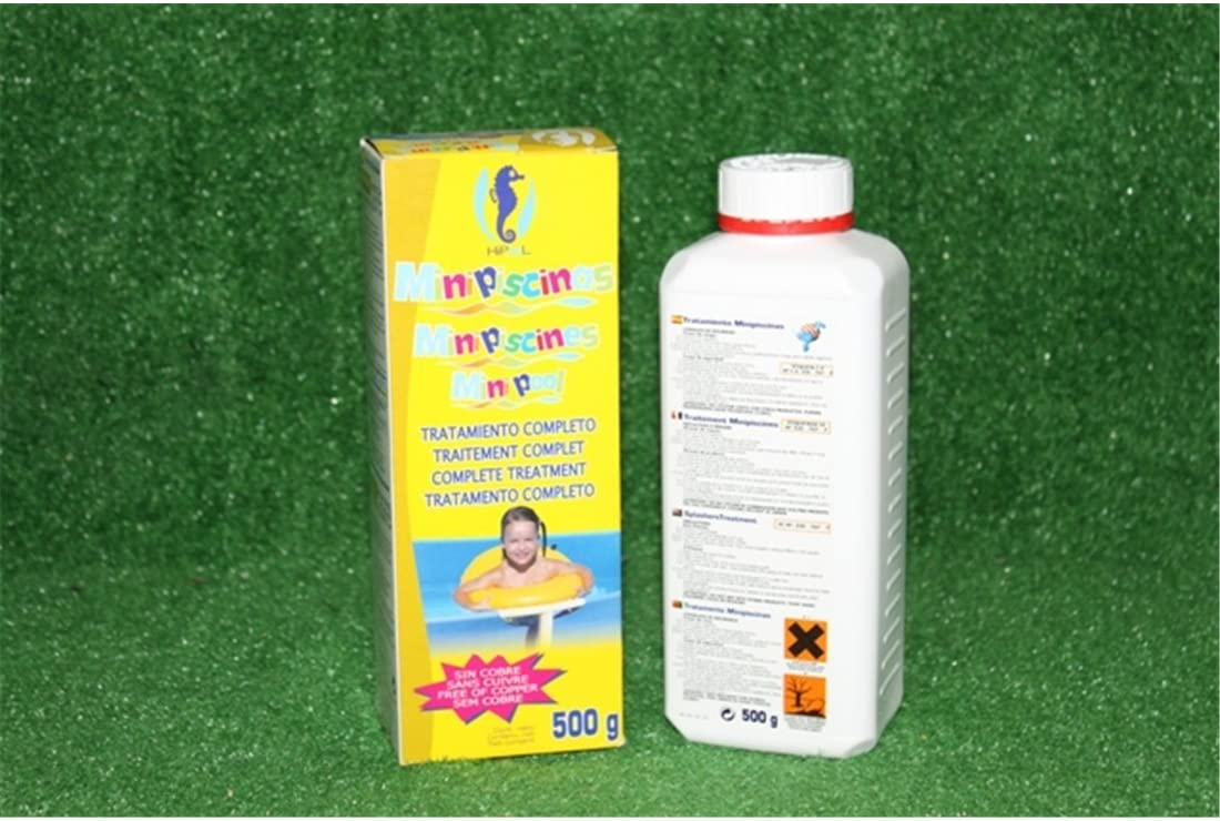 Jardin202 - Kit Completo Tratamiento minipiscinas 500g