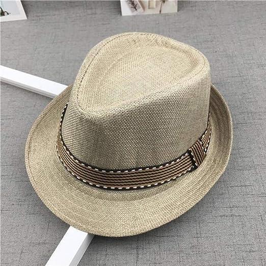 kyprx bombín Sombrero Derby para Mujer Sombreros de Fieltro Gorro ...