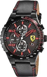 Ferrari Sport Watch For Men Analog Leather - 830363
