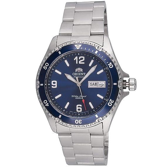 Orient Reloj faa02002d9 Mako II de Buceo  Amazon.es  Relojes 34f9b6345f7c