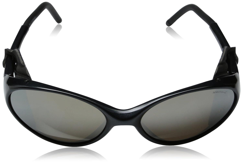 d0dcf4e8f3c130 Amazon.com   Julbo Colorado Mountain Sunglasses, Spectron 4 Lens, Black   Glacier  Glasses   Clothing