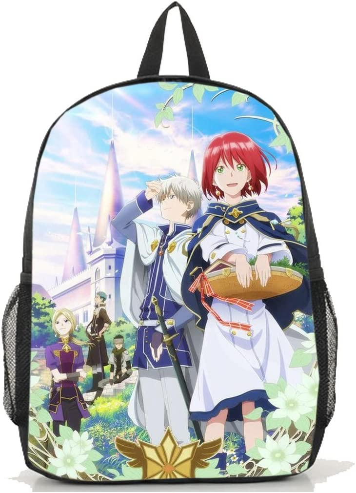 Dreamcosplay Anime Snow White with the Red Hair Backpack Book Bag cosplay