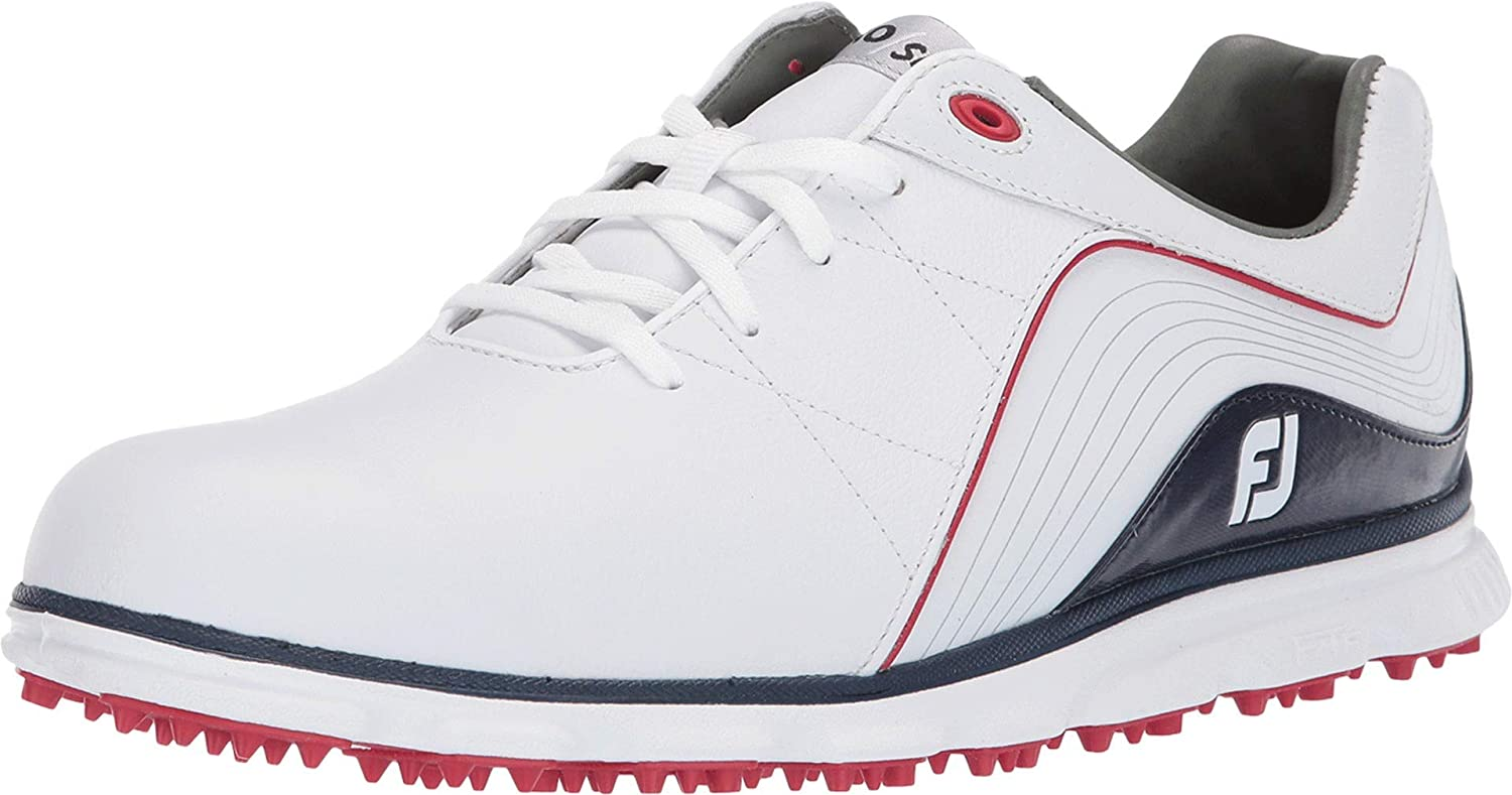 FootJoy Pro SL Spikeless White/Navy/Red
