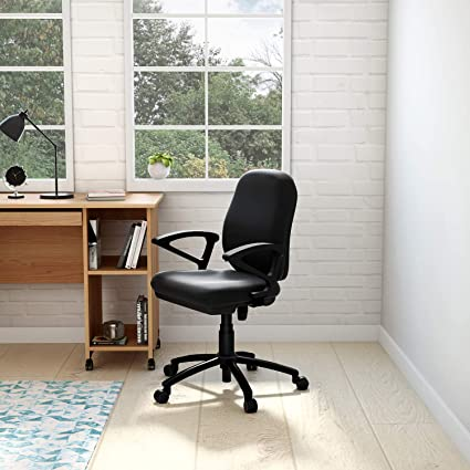 GODREJ INTERIO Virtue Study Chair (Black) (Suitable for Work from Home):  Amazon.in: Home & Kitchen