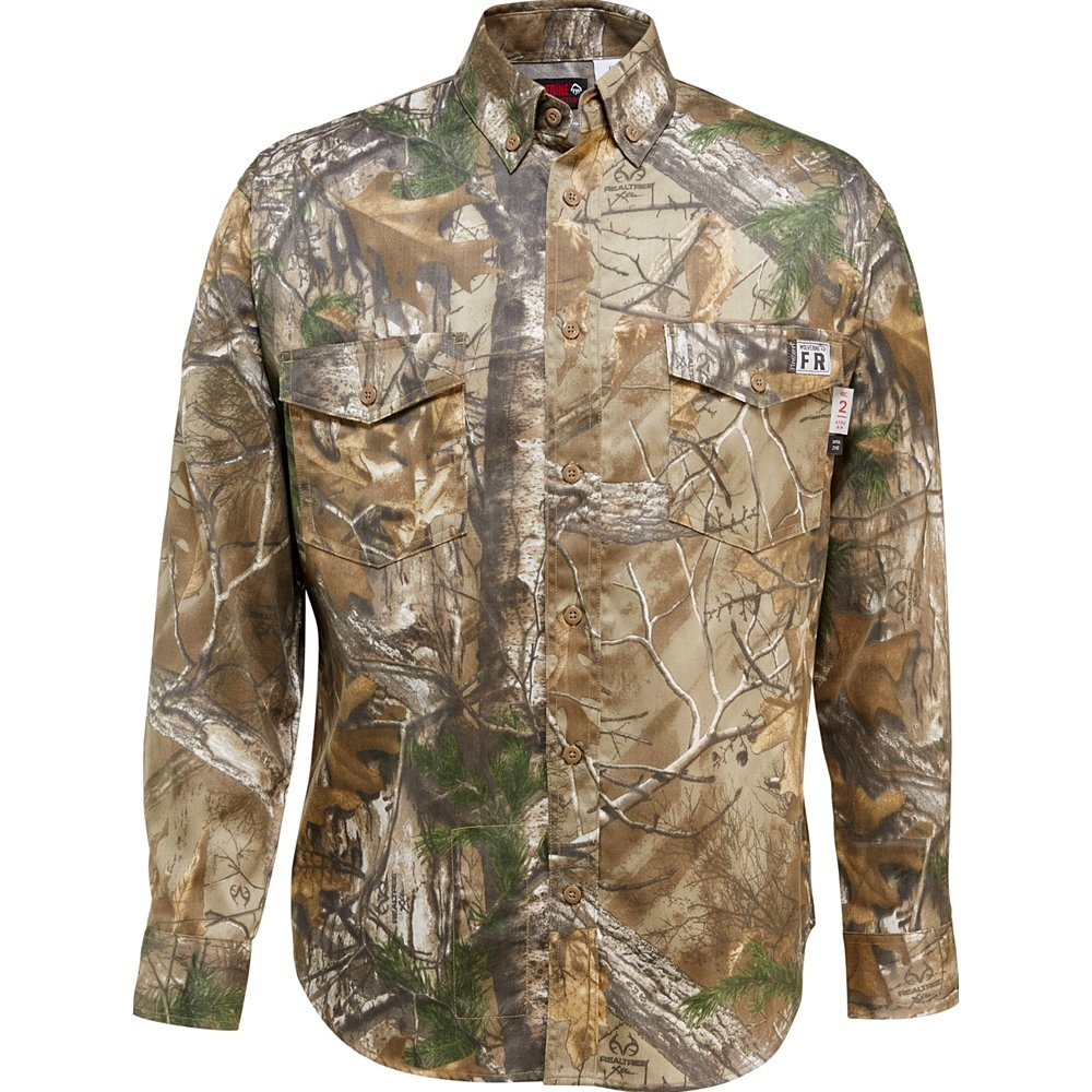 Wolverine SHIRT メンズ B072BB3KT2 Medium|Realtree Camo Realtree Camo Medium