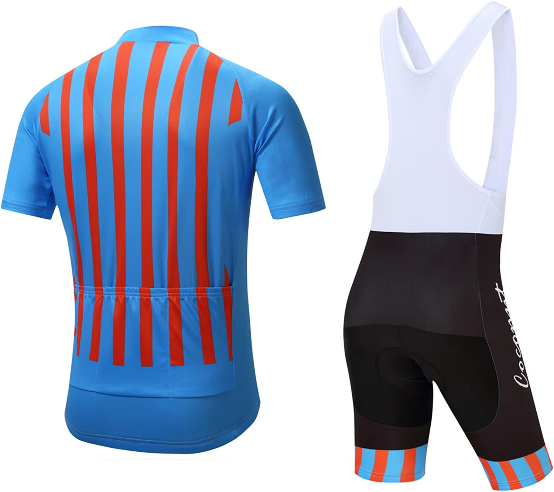 Coconut Ropamo Herren Fahrradbekleidung Sets Langarm Radtrikot Sets Rennrad Kleidung 4D Gepolstert Radlerhose