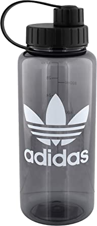 Dictado manzana Lógicamente  Amazon.com: adidas Originals - Botella de agua de plástico de 1 litro (32  oz): Clothing
