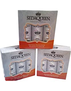 (Offer 3 promotional kits) Cirugía Capilar Seda Queen (3 pasos)