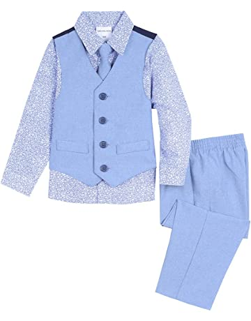 f7559ef8b Van Heusen Baby Boys 4-Piece Patterned Dresswear Vest Set