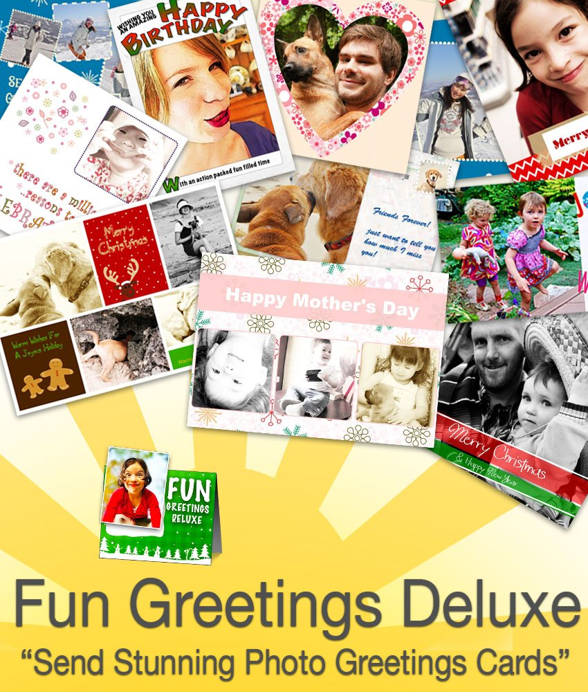 Fun Greetings Deluxe 1.0 [Download] by Ohanaware