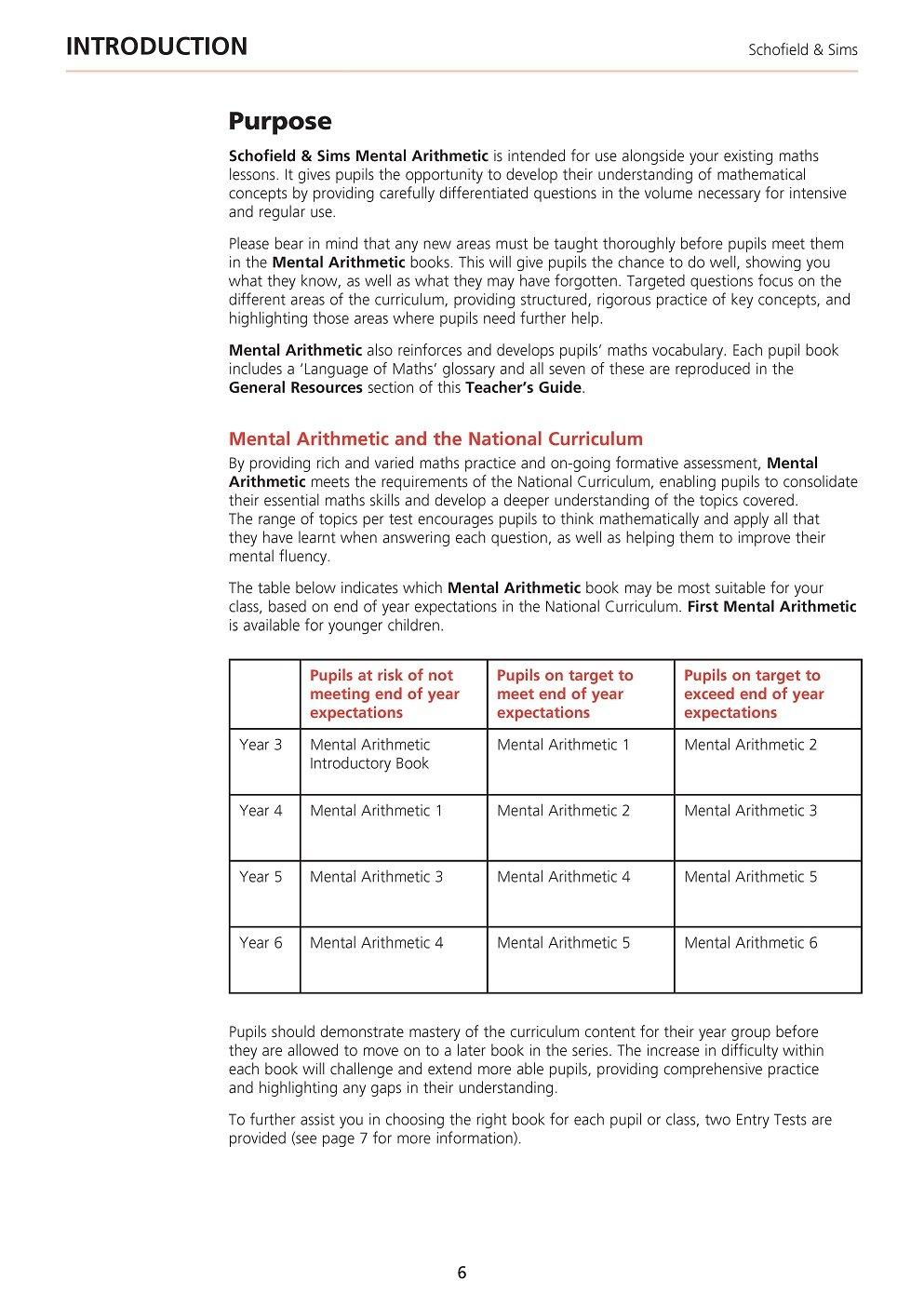 Mental Arithmetic Teacher\'s Guide: Montague-Smith Ann: 9780721713892 ...