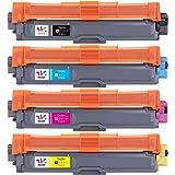 Weemay 互換 ブラザー トナーカートリッジ tn-291 tn291 hl-3170cdw トナー 対応機種: ブラザー HL-3170CDW MFC-9340CDW HL-3140CW DCP-9020CDW (4色セット)
