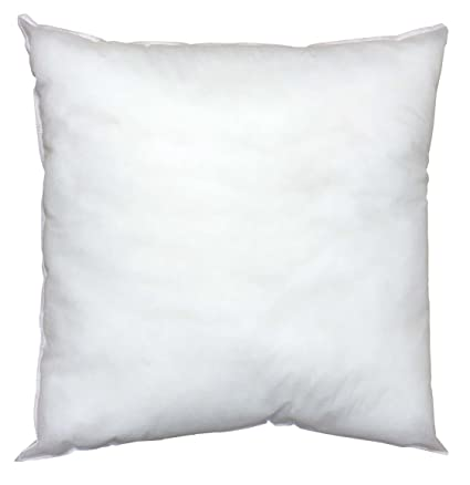 Pillowflex Indoor Outdoor Non Woven Pillow Form Insert For Shams Or Decorative Pillow Covers 30 Inch By 30 Inch