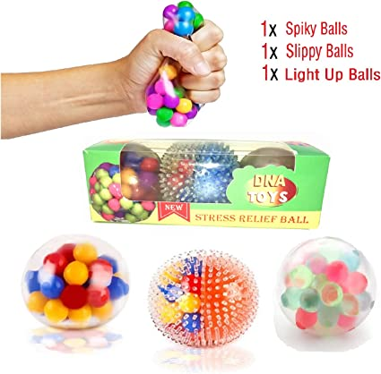 Pen topper stress reliever ADHD autism educational toy 1x Hand Stress Ball