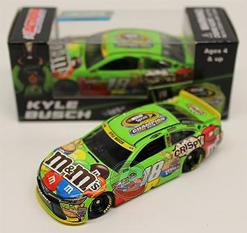 kyle busch 2015 nascar sprint cup champion mms 164 diecast car - Kyle Busch Halloween Car