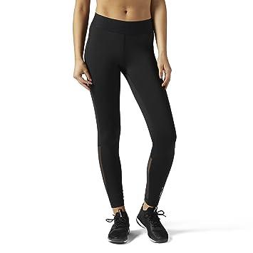f79f4c121bed6b Reebok Women's Les Mills X Lux Leggings, CE1015, Black, XL: Amazon ...