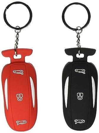 Amazon.com: Anillo de silicona para llaves de coche, 2 ...