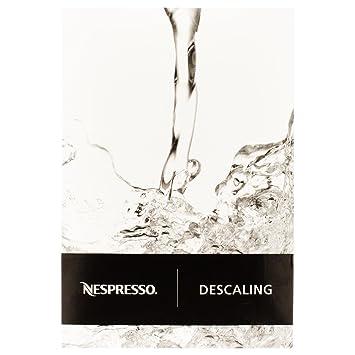 Nespresso descaling instructions citiz