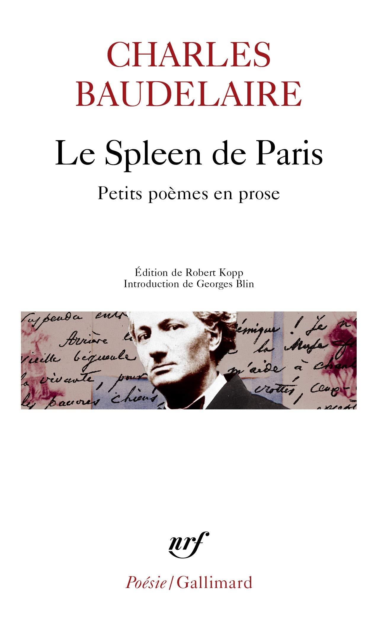 Le Spleen De Paris Petits Poèmes En Prose Poésie Amazon