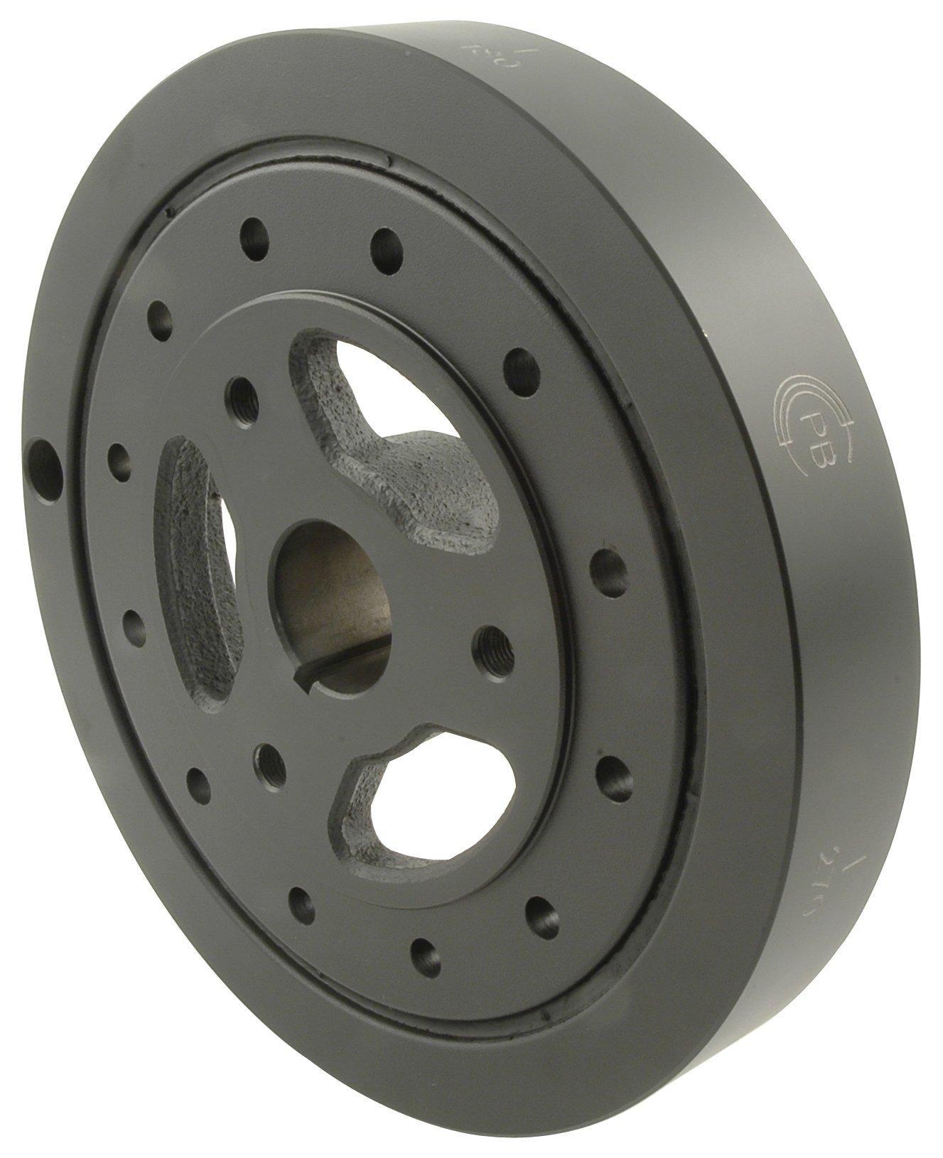 Powerbond Balancers PBU1117-SS25 6.75'' SFI Approved Steel Harmonic Balancer for Small Block Chevy