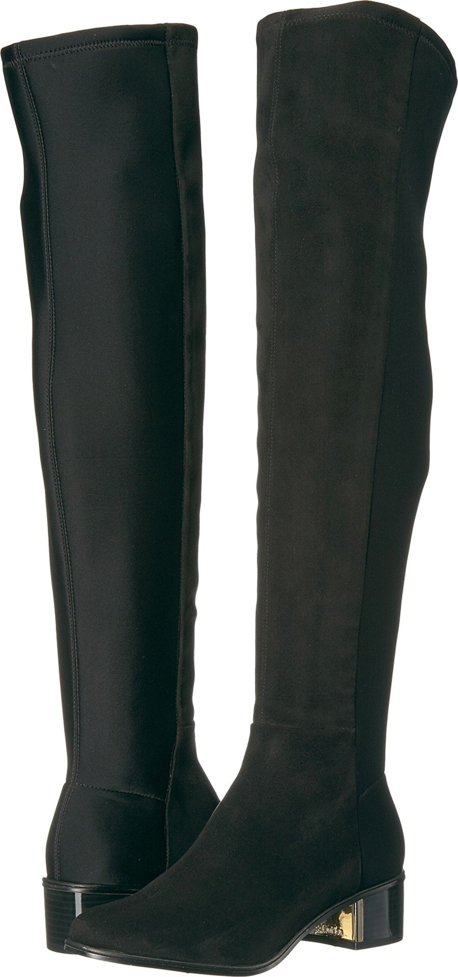 Calvin Klein Women's Carney Over The Knee Boot, Black, 8 Medium US