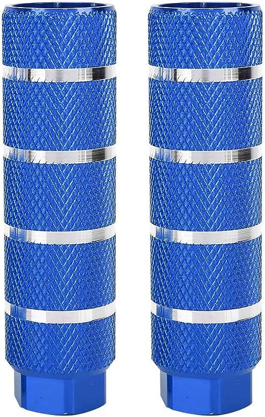 VGEBY 1 par de Soportes de lanzacohetes de Pedal Trasero de Bicicleta de monta/ña de aleaci/ón de Aluminio Universal de Orificio Grande en pie y Poste de Pedal