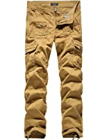 SSLR Men's Cotton Long Cargo Pants at Amazon Men's Clothing store: