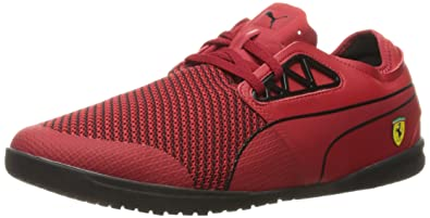 PUMA Men's Changer Ignite SF Statement Fashion Sneaker, Rosso Corsa Black,  ...