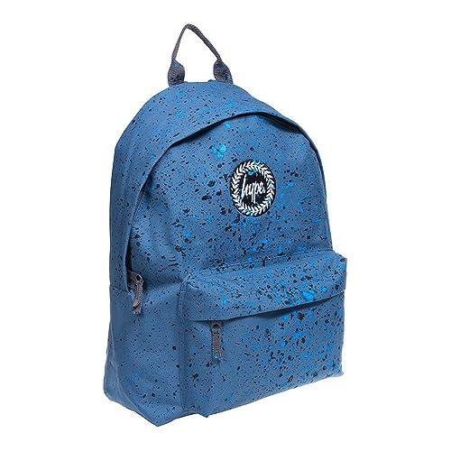 76ef73b2c045 Hype Backpack Rucksack Bag - Splatter Airforce Blue   Black   Navy ...