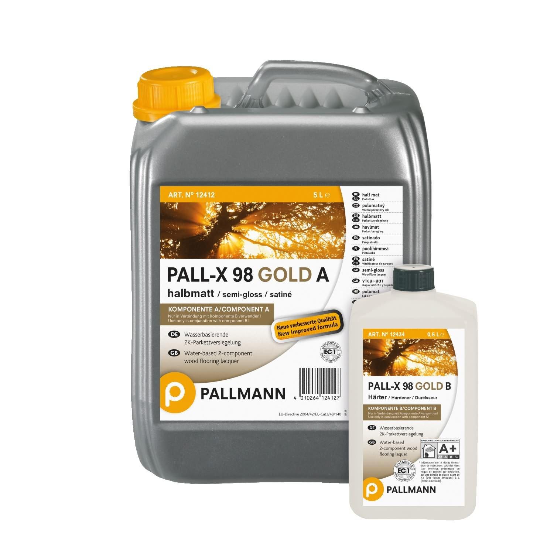 Hervorragend Pallmann Pall-X 98 A/B Versiegelung, halbmatt - 5,5 Liter: Amazon TJ13