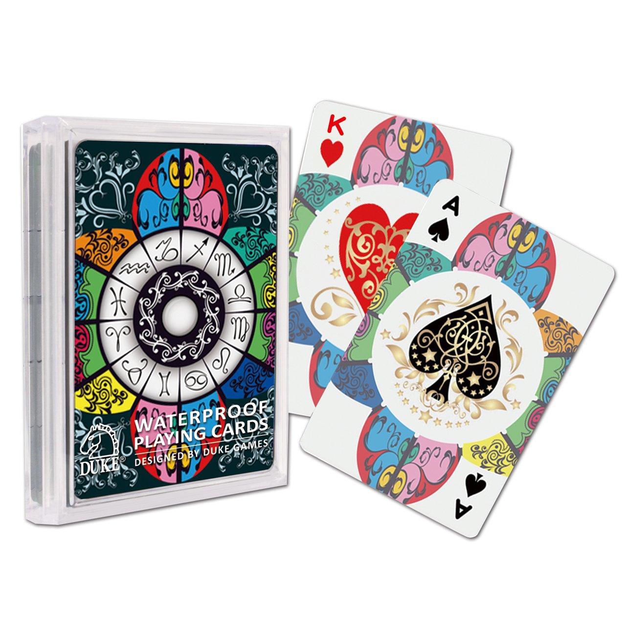 Zodiac Transparent Playing Cards