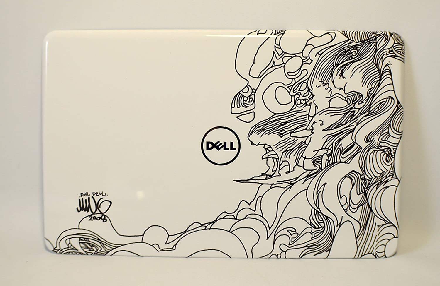 CP2GX NEW Dell Inspiron 17R N7110 Laptop Notebook Display Visual Monitor 17.3 Inch Rear Back Bunch Of Surfers Cover Top Panel Case Assembly LCD LID Snap On Switch Switchable