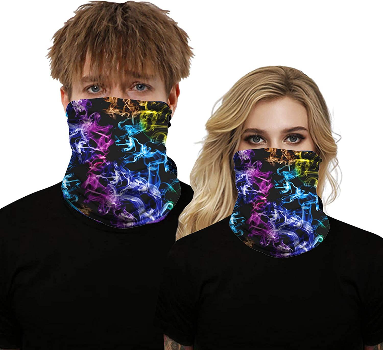 2020 Seamless Bandana Face Mask Neck Gaiter Headbands Reusable Face Scarf Dust Mask for Women