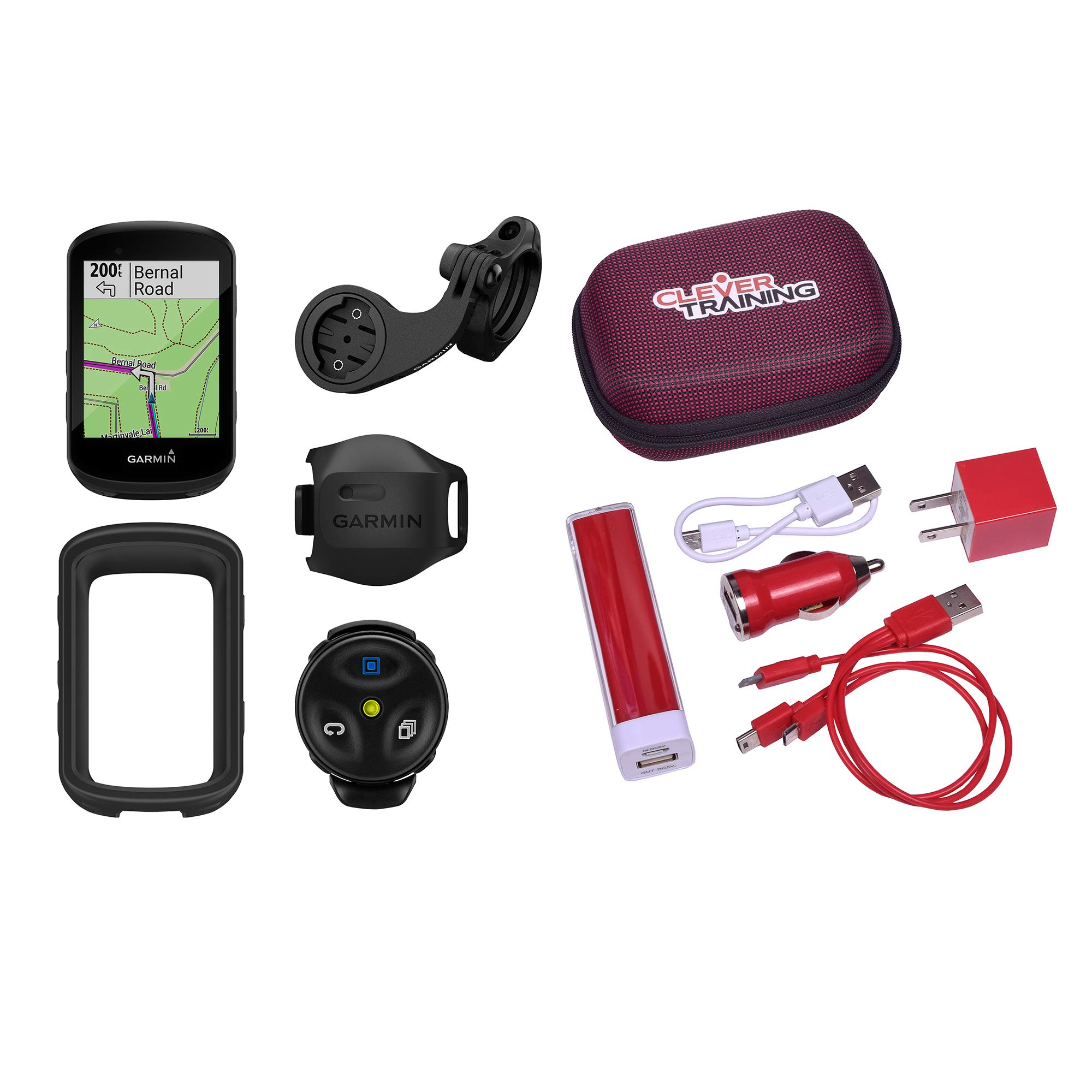Clever Training Edge 530 Mountain Bike Bundle Power Pack by Clever Training