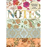 Punch Studio PUN43008 Sticky Notes Portfolio Calico Notes Sticky Notes Pad Calico Notes