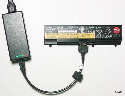 Cargador de batería externo para Lenovo ThinkPad T410, T410i, T420, T420i, T430