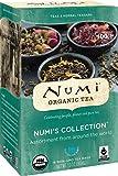 Numi Organic Tea Variety Pack, 16 Bags, Numi's Collection Assorted Teas and Tisanes, Organic Tea Variety Box with Black Tea, Green Tea, White Tea, Pu-erh Tea, Mate, Chai, Rooibos and Herbal Tea