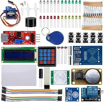 OSOYOO 2016 RFID Kit de iniciación de Seguridad para Arduino UNO ...