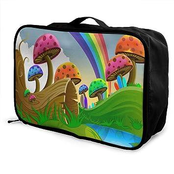 Amazon.com: Bolsas de viaje con diseño de árbol de dibujos ...