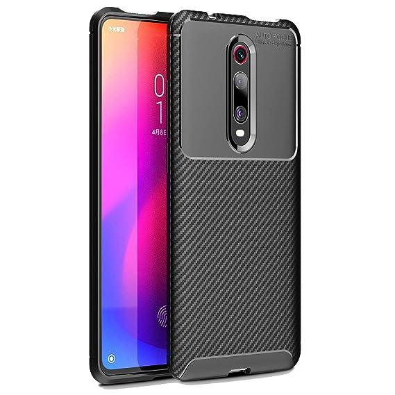 MYLB for Xiaomi Mi 9T (Pro)/Redmi K20 (Pro) case,[Scratch Resistant Anti-Fall] Carbon Fiber Design Flexible Soft TPU Case,Anti-Scratch Shockproof ...