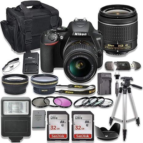 Nikon D3500 - Cámara réflex Digital con Lente de Realidad Virtual ...