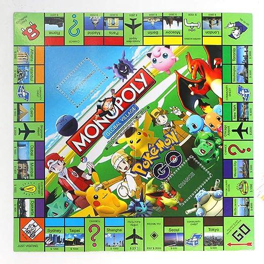 LJSHU Puzzle Gran Tablero de Dibujos Animados monopolio Padre-niño Juego de Mesa Interactivo: Amazon.es: Deportes y aire libre