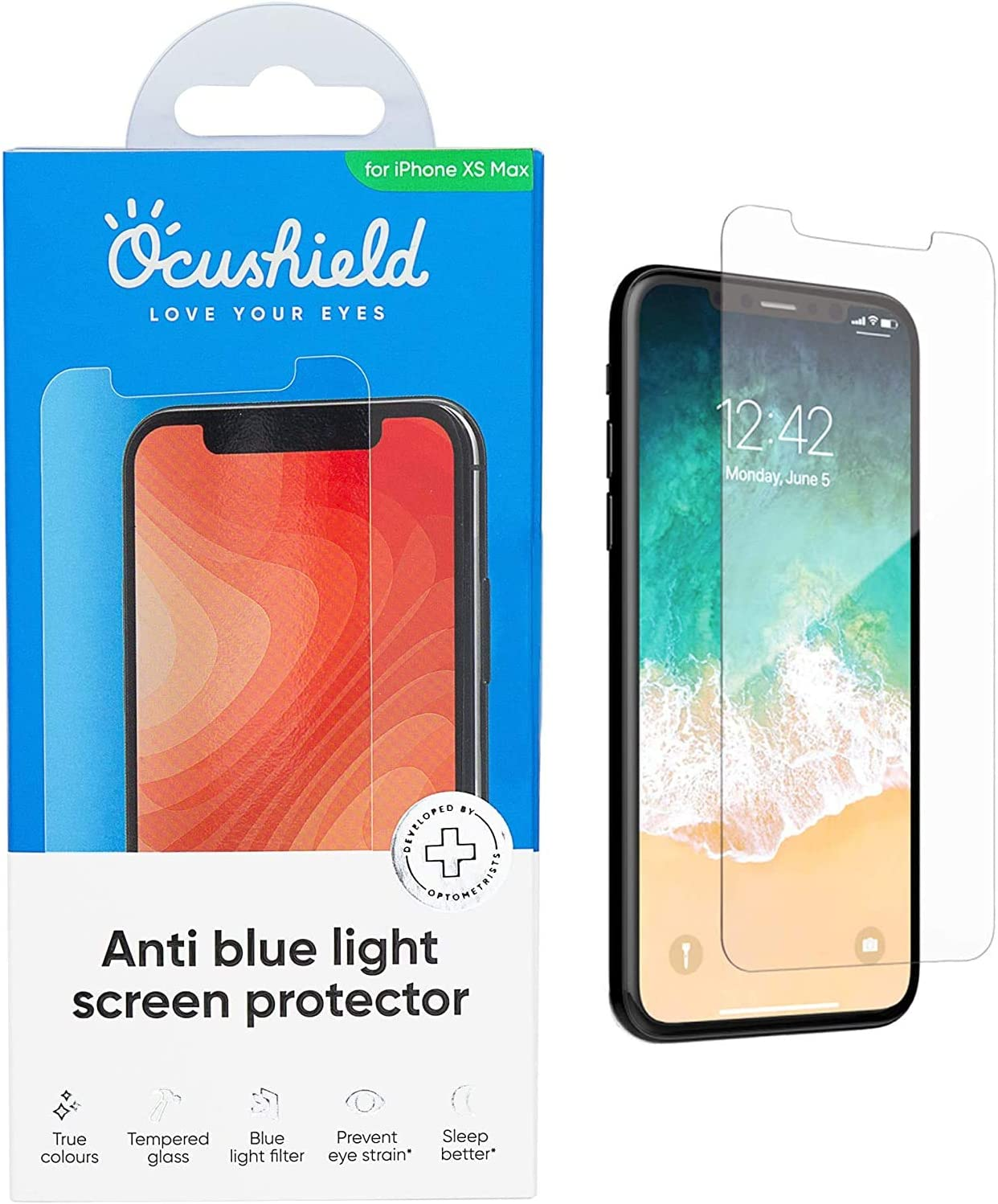 Ocushield Protector pantalla iPhone XS Max 6.5